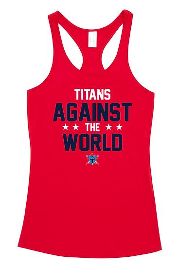 Titans Against the World T-Back Singlet (Kids)