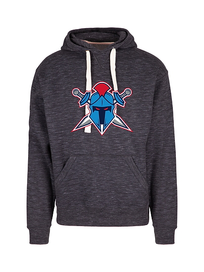 Titans Helmet Logo Brushed Heavy Fleece Hoodie (Mens)