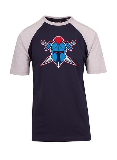 Titans Helmet Logo Raglan Tee (Unisex)