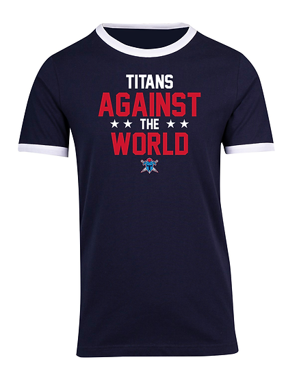 Titans Against the World Ringer Tee (Unisex)