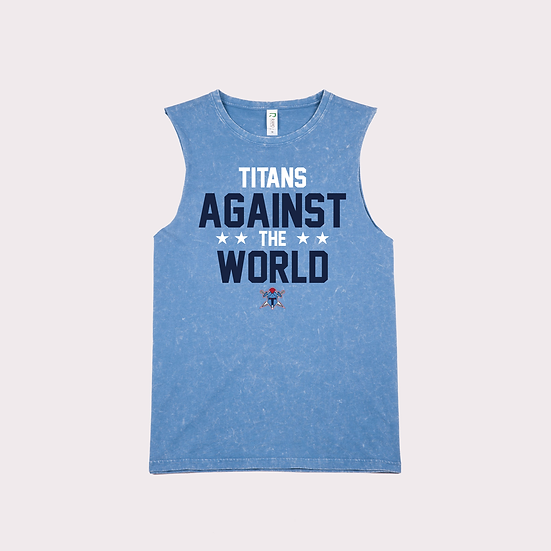 Titans Against the World Stone Washed Tank (Ladies)