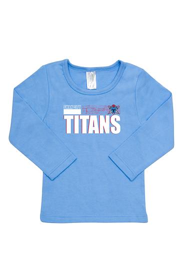 Titans Abstract Long Sleeve Tee (Babies)
