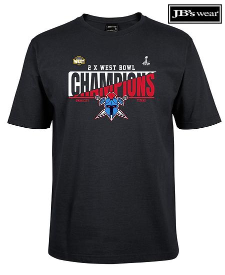 Titans 2020 West Bowl XXVI Champions JB Wears Tee (Unisex)
