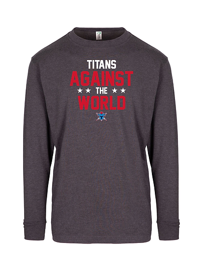 Titans Against the World Long Sleeve Tee (Mens)