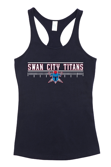 Titans Side Line T-Back Singlet (Kids)