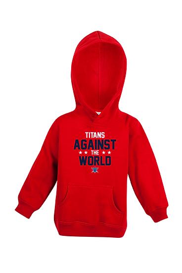 Titans Against the World Fleece Hoodie (Babies)
