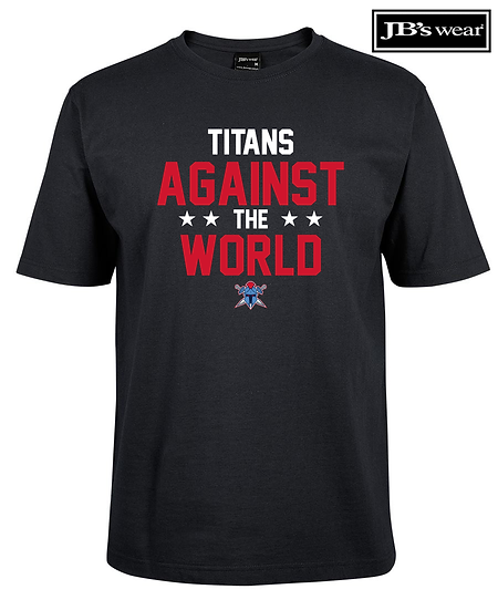 Titans Against the World JB Wears Tee (Unisex)