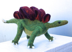 Stegosaurus finished