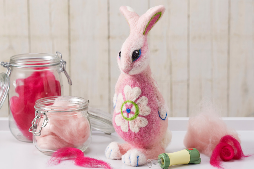 How to Make a Needle Felted Bunny