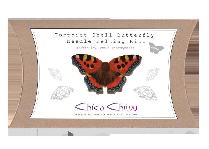 Tortoise Shell Needle Felting Kit
