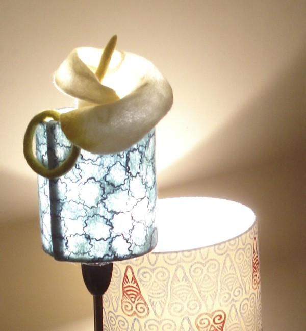 Wet Felt Lampshade Tutorial