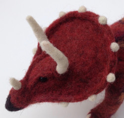 Triceratops Close-up