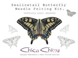 Swallowtail Needle Felting Kit