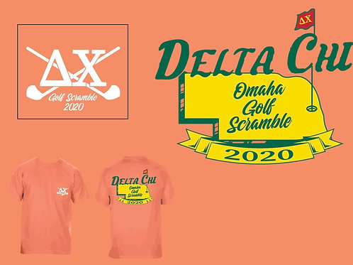 UNO Delta Chi Golf Outing T-Shirt