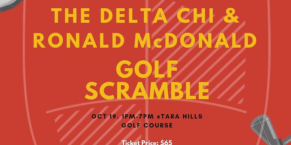 The Delta Chi & Ronald McDonald Golf Scramble
