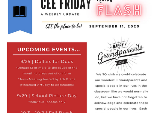 CEE Friday Flash