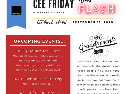 CEE News Flash 9/11/20