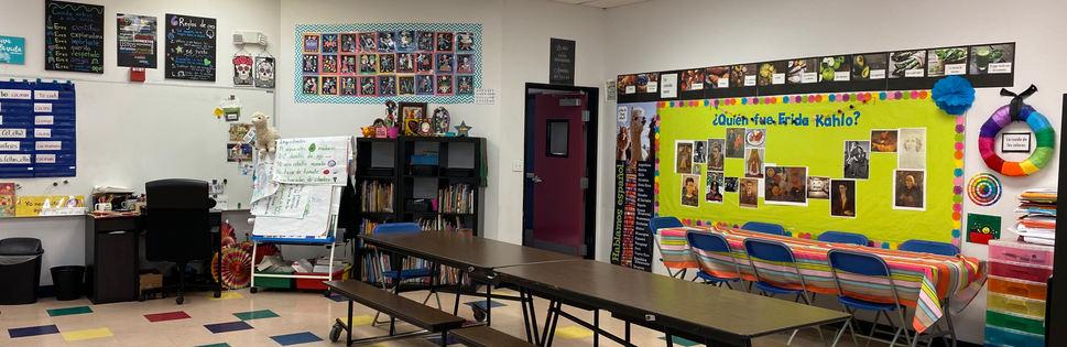 Spanish Classroom & Cafeteria