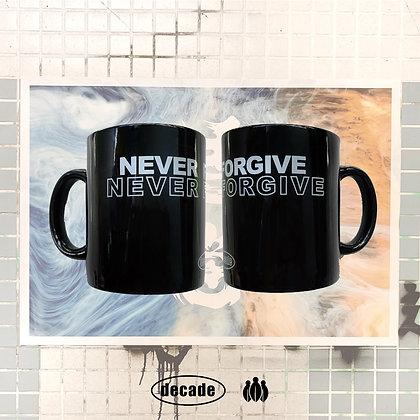 Decade NEVER FORGIVE 陶瓷杯