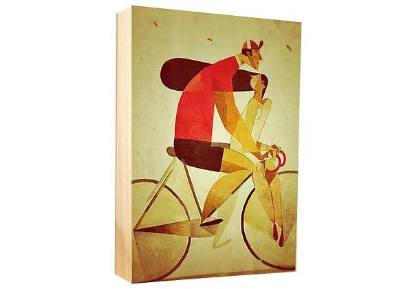 Novios ciclistas