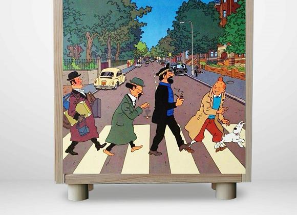 Tintín en Abbey Road