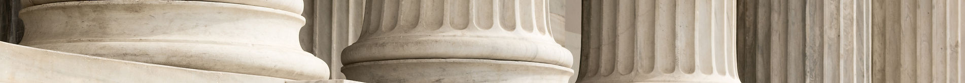 Architectural detail of marble steps and