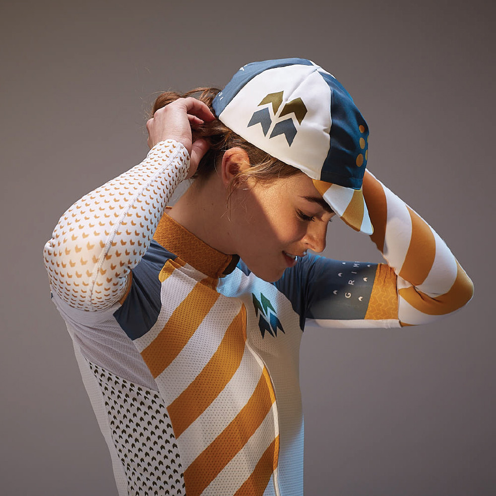 Grimpeur Short-sleeved Jersey & Arm-warmers.