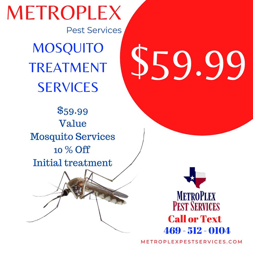 $59.99 MetroPlex Pest Services - Mosquito Treatment