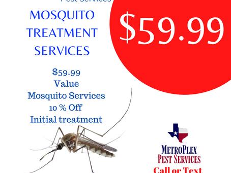 $59.99 MetroPlex Pest Services Mosquito Treatment | Services