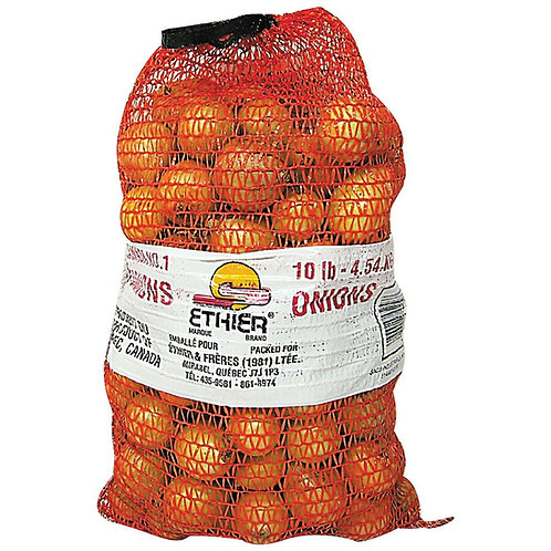 10lb  onion bag