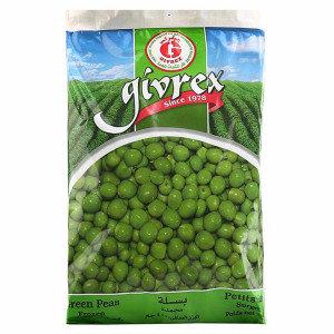 givrex green peas