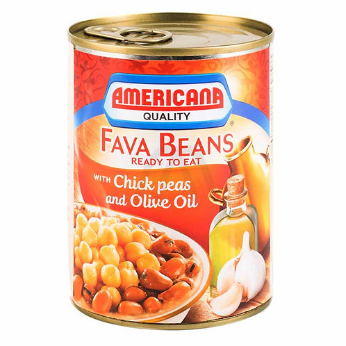 AMERICANA FAVA with Olive