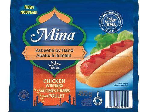 Mina Chicken Wieners 450g