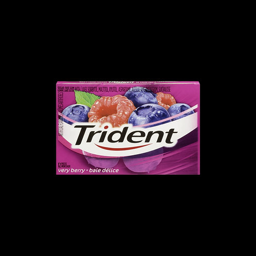 trident gum very berry