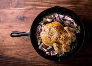Pastured Roasting Chickens: Whole, Quartered