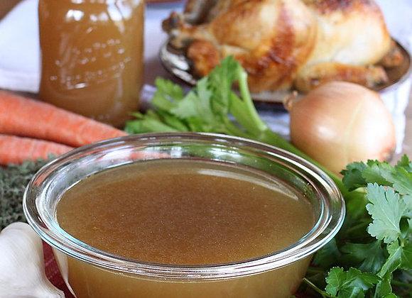 Roasted Chicken Bone Broth (22oz)