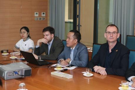 Trình bày công nghệ cho Chủ tịch UBND Tp.HN