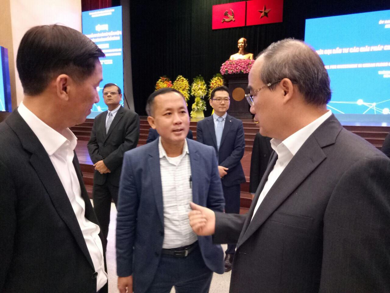 Bí thư Nguyễn Thiện Nhân ra chỉ đạo triển khai tại hội nghị Thành Ủy Tp.HCM