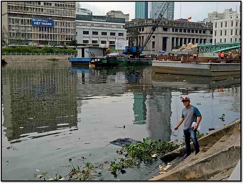 Ben Nghe River Cleaning Project, HCMC, Vietnam