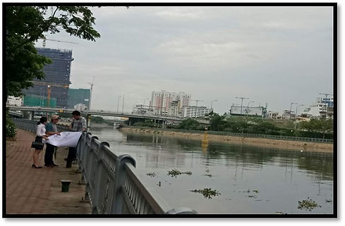 Tau Hu - Ben Nghe River Cleaning Project, HCMC, Vietnam