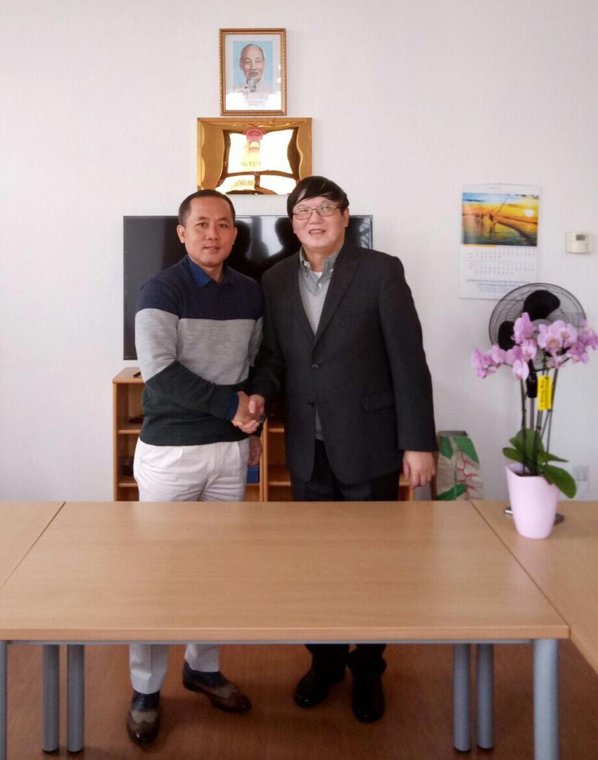 Đại sứ Nguyễn Hữu Tráng tại Berlin Đức
