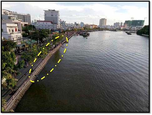 Kenh Te River Cleaning Project, HCMC, Vietnam