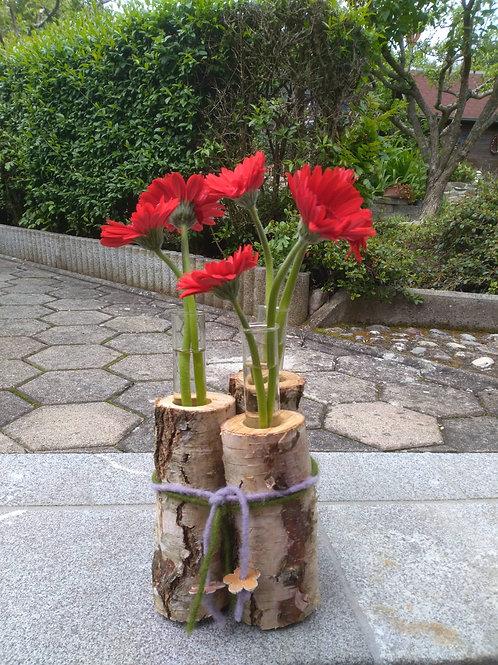Blumenvase Natur