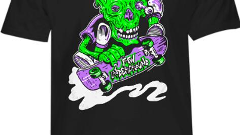 FTW ZombieSkater tee