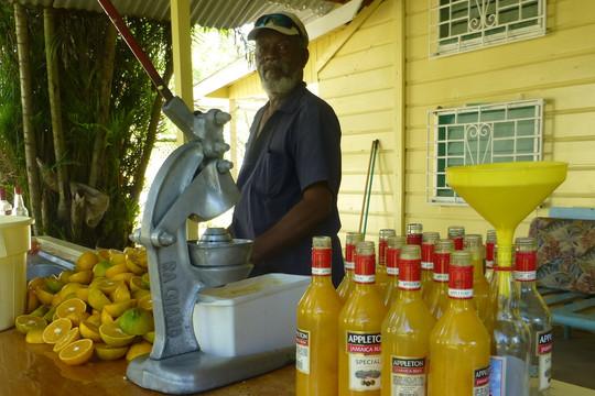 Yellow Bird Bar: Fresh Juices