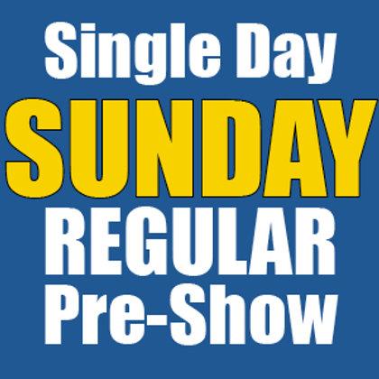 Single Day, SUNDAY, August 15