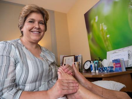 Not Just a Foot Massage!
