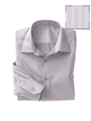 Violet White Stripe