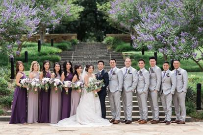 C + M Wedding Party