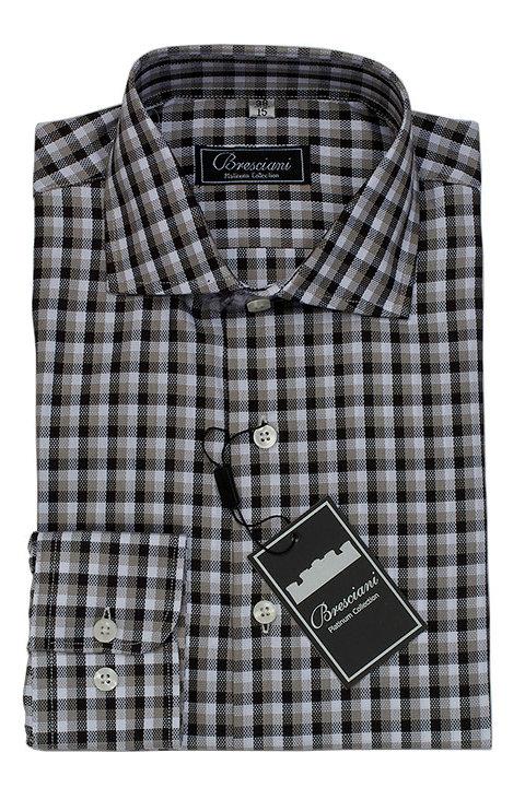 Black Check Dress Shirt